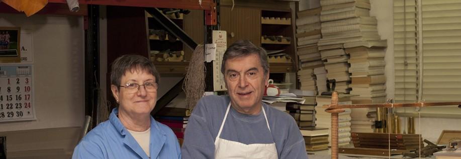 Josefina y Emilio, los propietarios