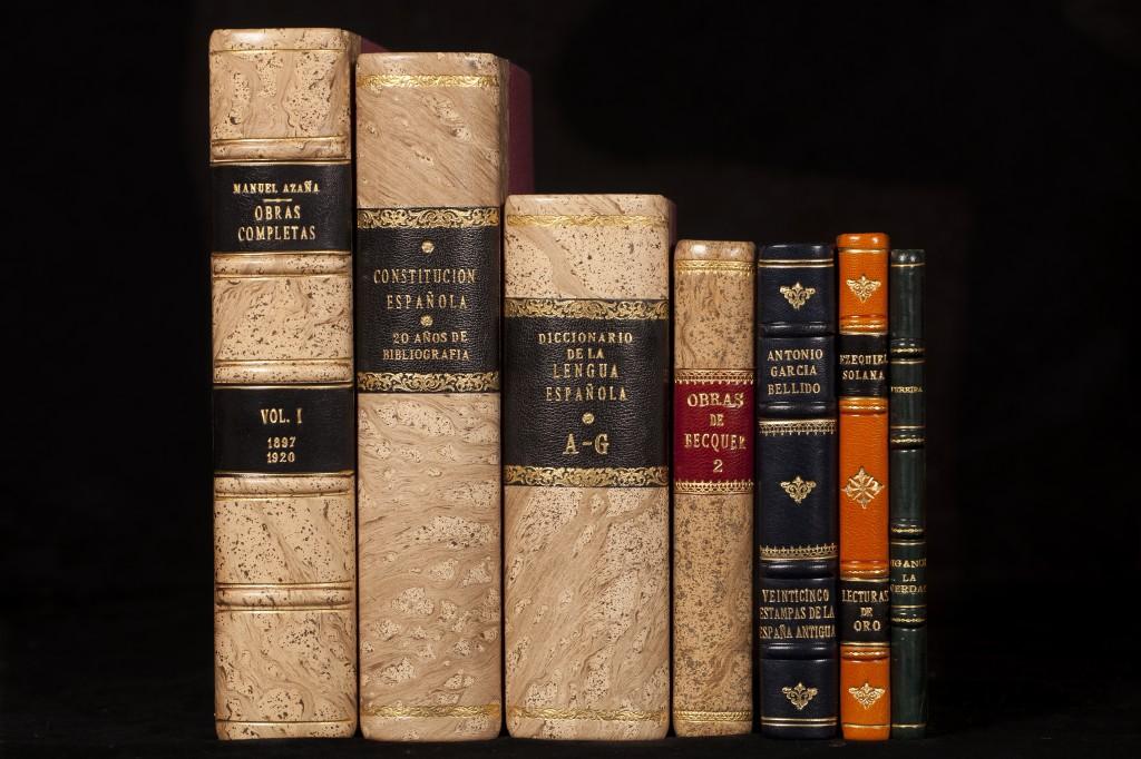 Encuadernación artesanal de tesis doctorales